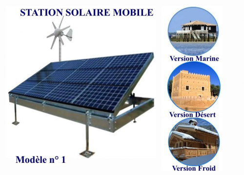 Station Solaire Mobile n°1